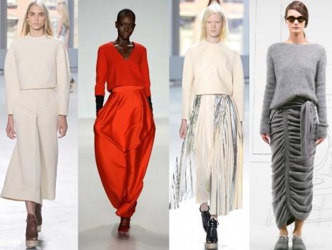 New York Moda Haftası'da Öne Çıkan Trendler