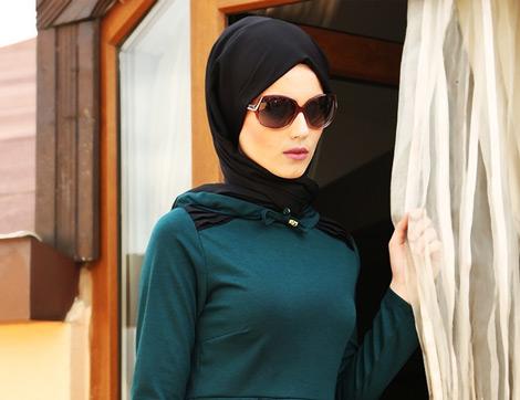 Refka 2014 Tesettür Elbise Modelleri