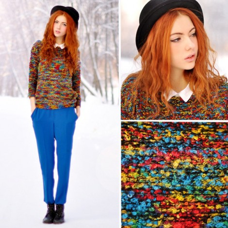 Renkli Kazak Modelleri