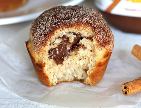 Püf Noktaları İle Nefis Tarçın Şekerli Çikolatalı Muffin Tarifi