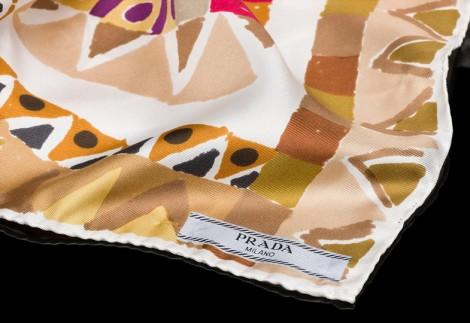 İpek Eşarp Modelleri Prada 2014