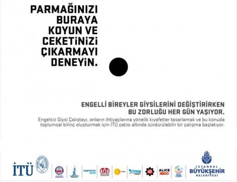 Engelliler İçin Engelsiz Giysi Çalıştayı İTÜ'de Yapıldı