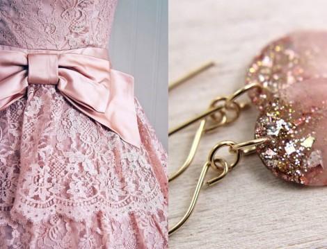 Pembe Elbise Modelleri 2014