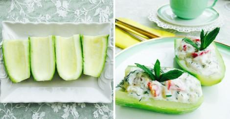 Lezzet Kayığı Salatası Tarifi