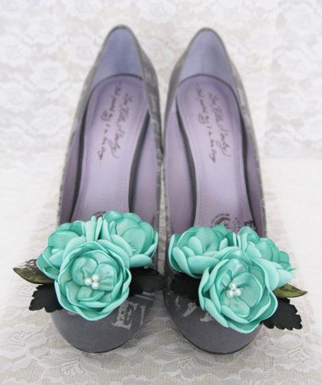 Mint Renkli Ayakkabı