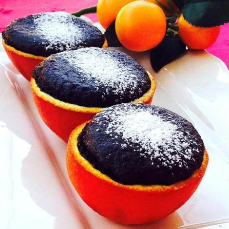 Portakal Çanağında Kakaolu Kek