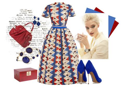 Marin Temalı Elbise Kombinleri