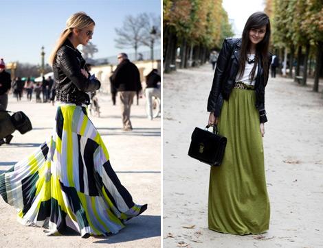 2014 Yazının En Güzel Uzun Etek Modelleri