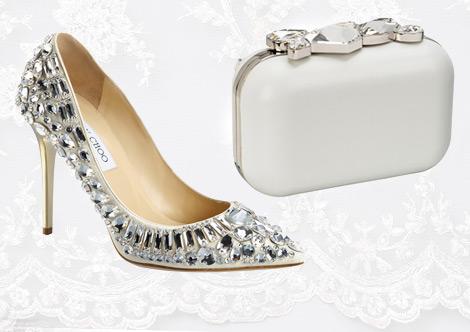 Gelinlere Özel Ayakkabı ve Çanta Modelleri