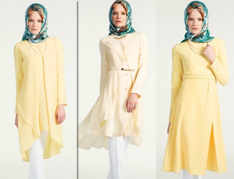 2014 Yaz Tunik Modelleri