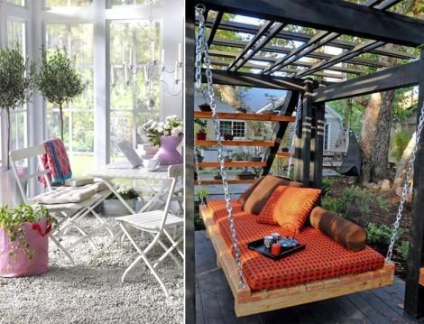 Bahçe ve Balkonlar için İlham Verecek Öneriler