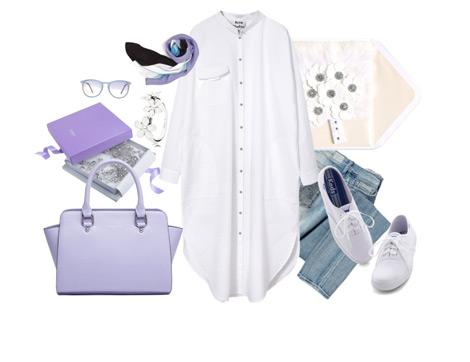 Beyaz Renkli Kıyafetleri Kombinlemenin Püf Noktaları