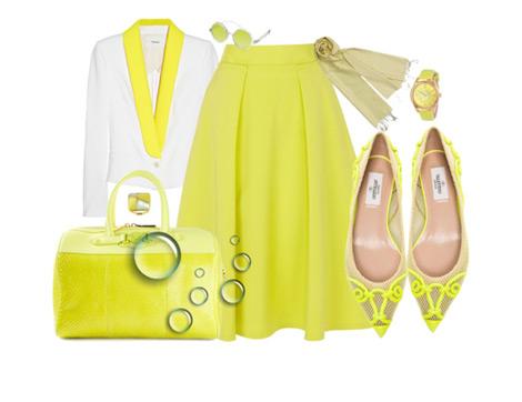 Sarı Rengin Kıyafetlerimize Yansıması