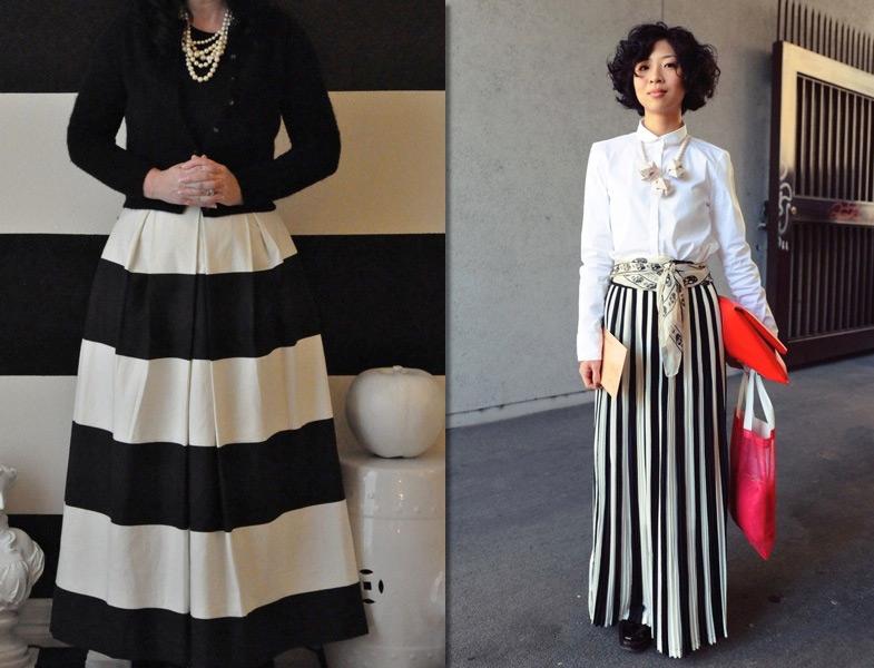 e0a91c99a8b5c Siyah Beyaz Etek Kombinleri | Resimlerle Tesettür Giyim Modelleri ve ...