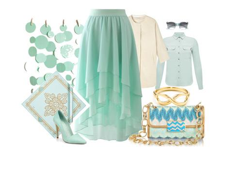 Su Yeşili Renkli Kıyafetleri Kombinlemenin Püf Noktaları
