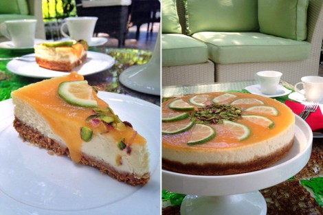Resimli Şeftalili Cheesecake Tarifi