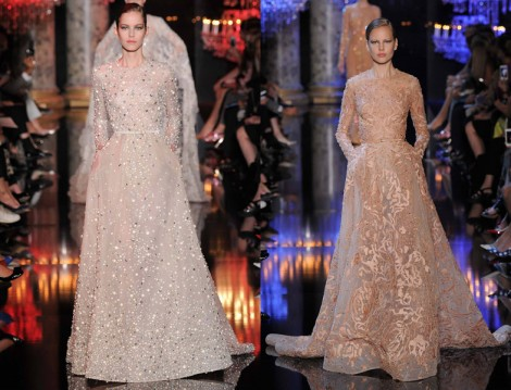 Elie Saab 2014 Sonbahar Haute Couture Koleksiyonu
