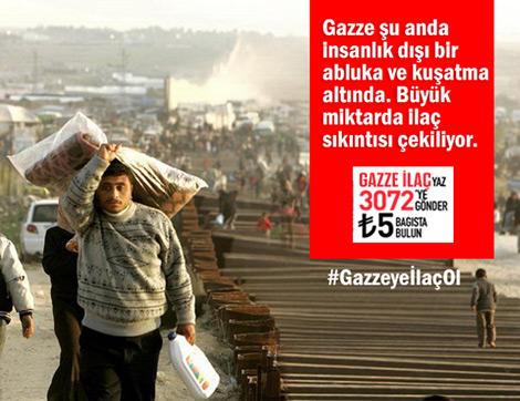 Gazze'ye İlaç Ol