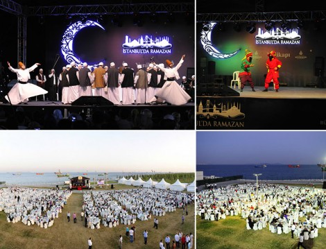 Ramazan'ın Son Haftasında Açıkhava İftarları