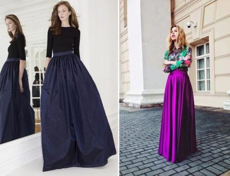 Uzun Etek Modelleri 2014 Yaz