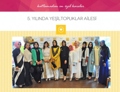 Yeşil Topuklar'dan 5. Yıla Özel E-Dergi