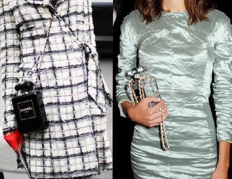 Chanel Parfüm Şişesi Çantaları