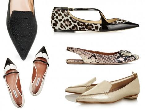 Düz Ayakkabı Modelleri 2014