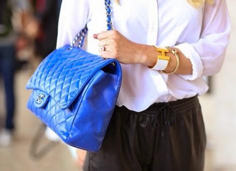 Mavi Renkli Çanta Modelleri