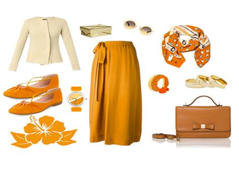 Portakal Tadında Kombinler