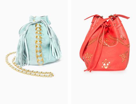 Yükselen Trend Büzgülü Çantalar