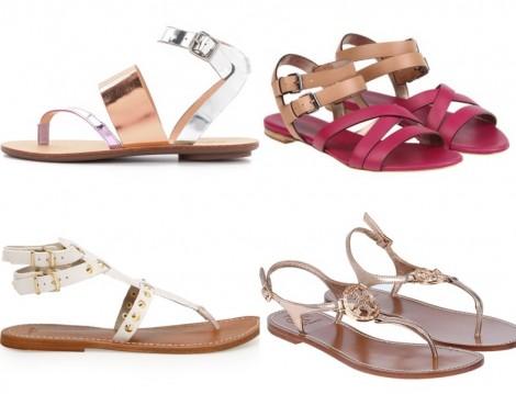 Yazın En Güzel Sandalet Modelleri 2014