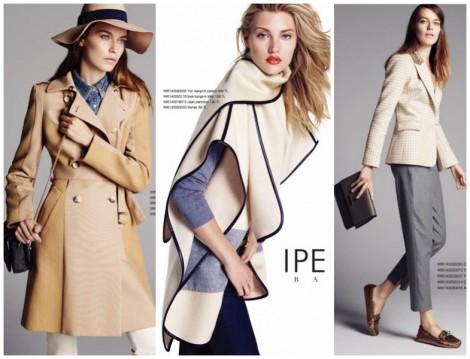 İpekyol 2014 2015 Sonbahr Kış Trençkot Modeleri