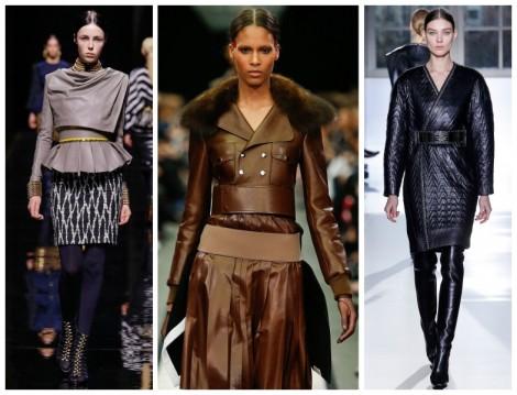 2014-15 Sonbahar Kış Deri Modası