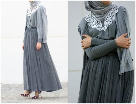 Annah Hariri 2015 Uzun Elbise Modeli