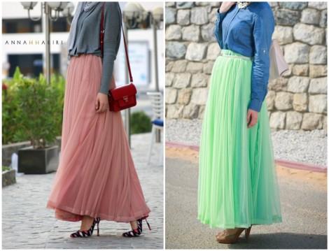 Annah Hariri 2015 Uzun Etek Modelleri