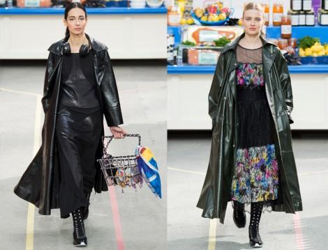 Chanel Deri Pardesü Modelleri