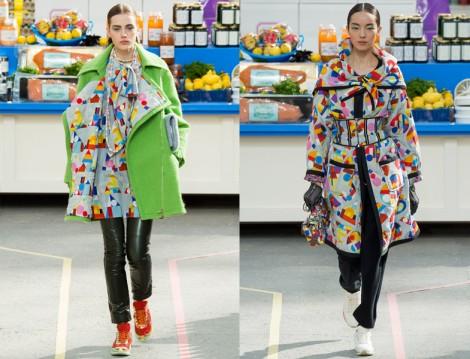 Chanel Renkli Manto Modelleri