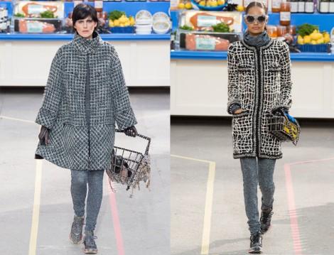 Chanel Siyah Beyaz Kaban Modelleri