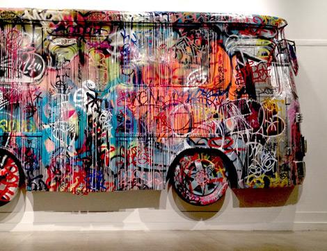 Sergi: Duvarların Dili Graffiti / Sokak Sanatı