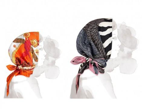 Hermes 2015 Sonbahar Kış Eşarp Modelleri