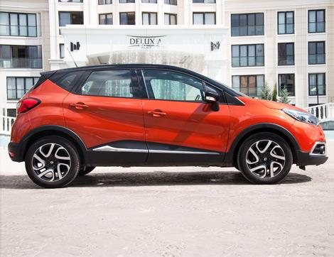 Kadınların En Yeni Gözdesi Renault Captur