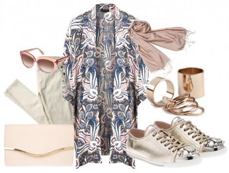 Kimono ile Kombin Önerileri