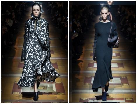 Lanvin 2014-15 Sonbahar Kış Elbise Modelleri