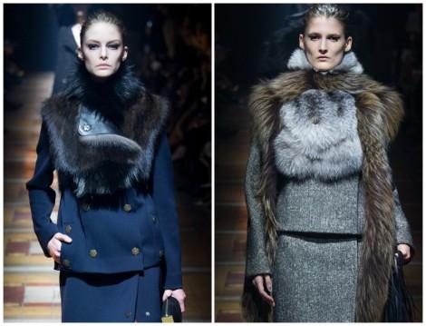 Lanvin 2014-2015 Sonbahar Kış Kürk Modelleri