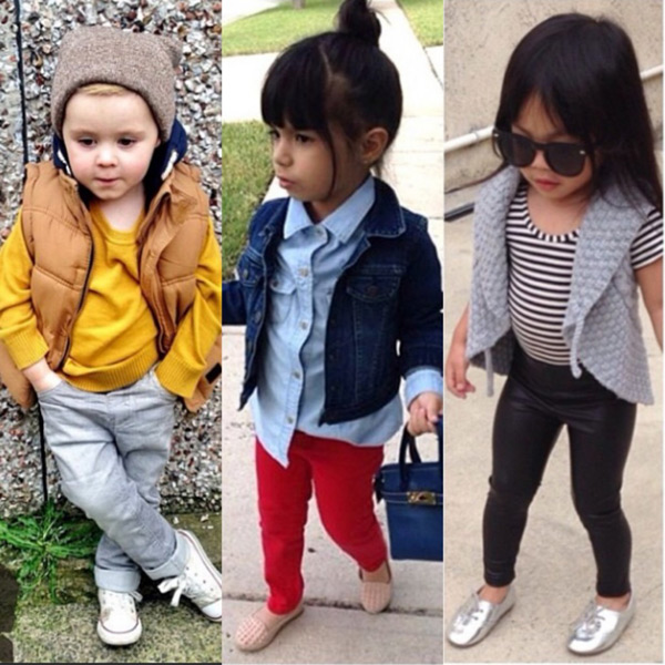 Modayı Takip Eden Çocuklar