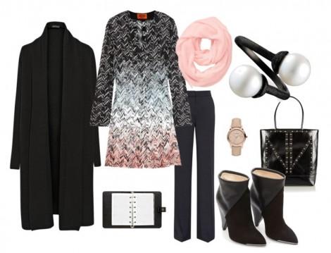 Resmi Ortamlarda Giyilen Siyah Renkli Kombinler