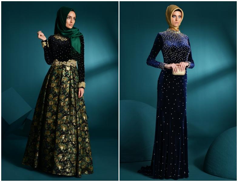 dedad9bc070a5 Setrms 2014-2015 Sonbahar Kış Elbise Modelleri | Resimlerle Tesettür ...