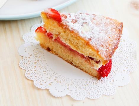 Tatlı Tarifleri Victorian Sponge Cake
