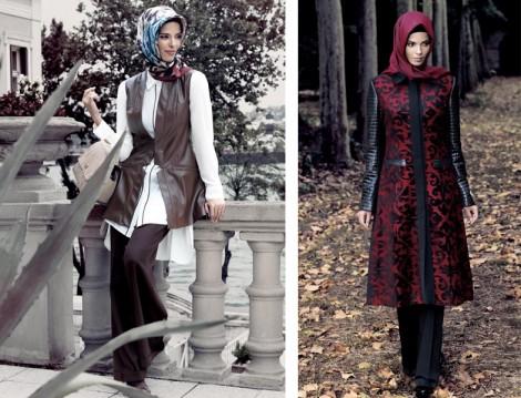 Tekbir Giyim 2014-15 Sonbahar Kış Tesettür Giyim