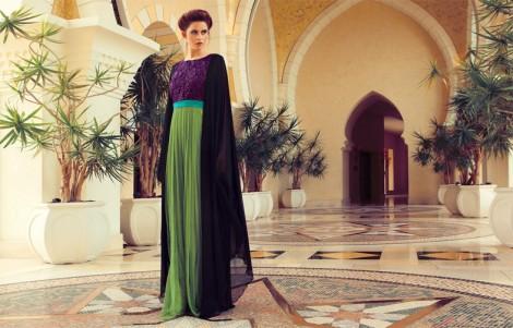 Tesettür Abaya Modeli 2015 dubai